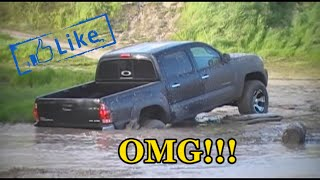 getlinkyoutube.com-2008 Tacoma 4x4  off road, mudding