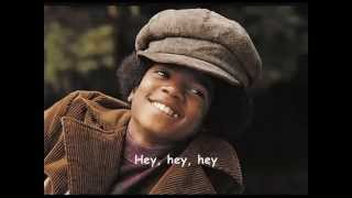 getlinkyoutube.com-Michael Jackson I was made to Love her Lyrics on Screen