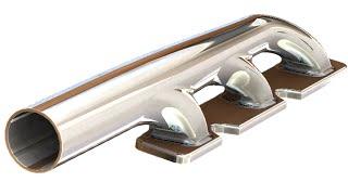 getlinkyoutube.com-SolidWorks ʬ Tutorial #189car: Exhaust Manifold 1 & 2  (boundary boss)