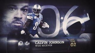 getlinkyoutube.com-#6 Calvin Johnson (WR, Lions) | Top 100 Players of 2015