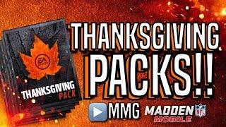 getlinkyoutube.com-Thanksgiving Pack Opening! Madden Mobile 16 Thanksgiving Promo
