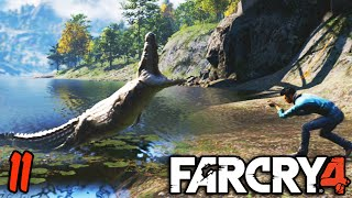 getlinkyoutube.com-Far Cry 4 Coop Funny Moments 11 - Crocodile Hunters
