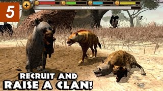 getlinkyoutube.com-Hyena Simulator - Part 5 - Level 50 and Baby Hyena - Compatible with iPhone, iPad, and iPod touch