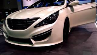 getlinkyoutube.com-Up Close With Rides Hyundai Sonata 2.0 Turbo HD Walk Around