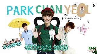 getlinkyoutube.com-[HD] EXO's Chanyeol Tattoos
