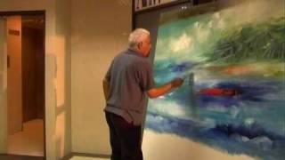 getlinkyoutube.com-Oil Painting Demo - Viswam