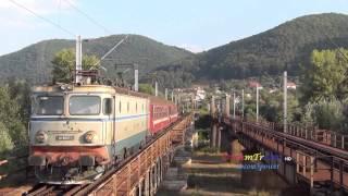 getlinkyoutube.com-Passengers train sounds on Mures river / Trenuri de calatori pe valea Muresului  - 25.08.2013
