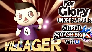 getlinkyoutube.com-Bowling Bawls | Undefeatable! ~ Villager Ep. 1 - Super Smash Bros for Wii U (For Glory) 60 FPS
