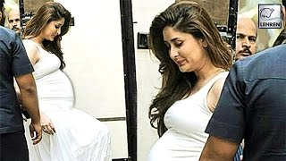 getlinkyoutube.com-Kareena Kapoor Flaunts Her Big Baby Bump | LehrenTV