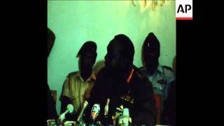SYND 16-10-73 GENERAL IDI AMIN OF UGANDA HOLDS PRESS CONFERENCE