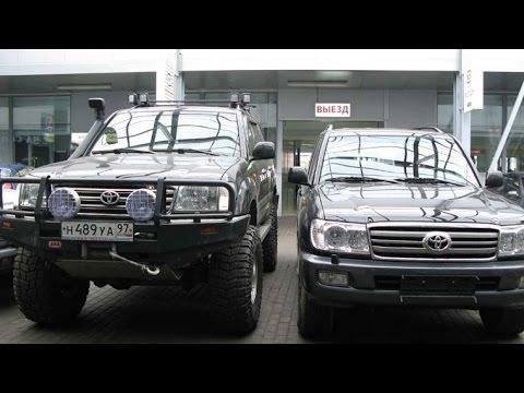 Toyota Land Cruiser 100 и 105 различия и особенности эксплуатации!
