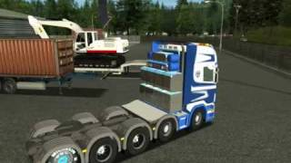 getlinkyoutube.com-German Truck Simulator 2010 Scania Karner Part 1