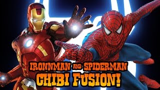 getlinkyoutube.com-ART CHALLENGE!!! Ironman + Spiderman Fusion