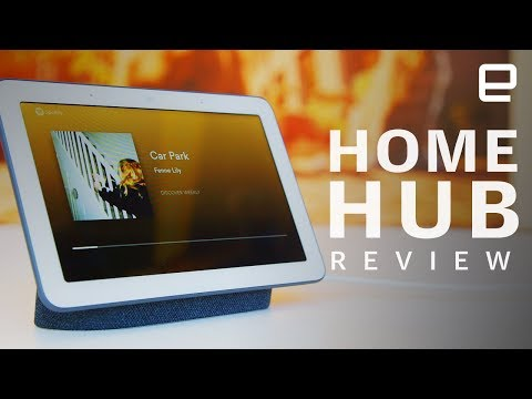 Engadget recenserar Google Home Hub. Googles smarta skärm får gott betyg  dc1213e12913a