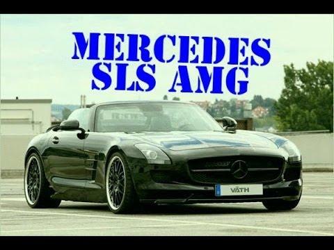 Расположение у Mercedes SLS коробки передач