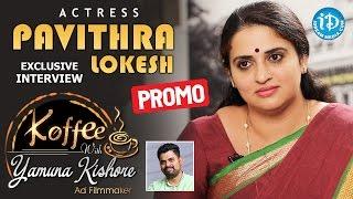 getlinkyoutube.com-Actress Pavithra Lokesh Exclusive Interview PROMO    Koffee With Yamuna Kishore #6