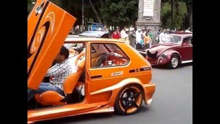 getlinkyoutube.com-Caravana de autos tuning - motorcade tuning - ajuste carreata