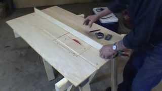 getlinkyoutube.com-Homemade Table Saw