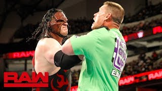John Cena Incites The Wrath Of Kane After Insulting The Undertaker: Raw, March 19, 2018