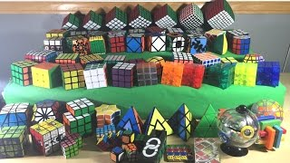 getlinkyoutube.com-[NEW] Rubik's Cube Collection | End of 2015 | 60+ Cubes