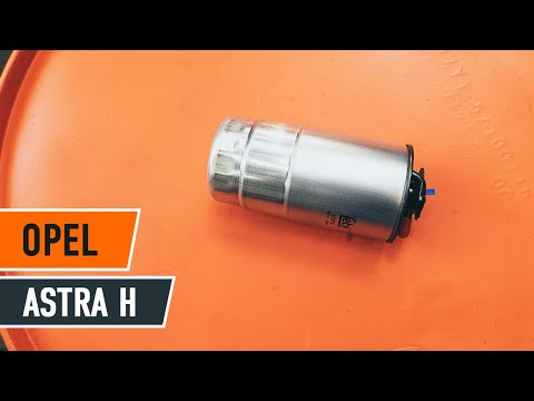 How to replace fuel filter on OPEL ASTRA H TUTORIAL | AUTODOC