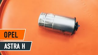 getlinkyoutube.com-How to replace fuel filter on OPEL ASTRA H TUTORIAL   AUTODOC