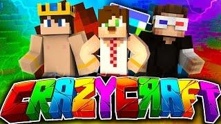 getlinkyoutube.com-Minecraft Crazy Craft -3- Denizaltı Baskını & Hakan Manita Yaptı !