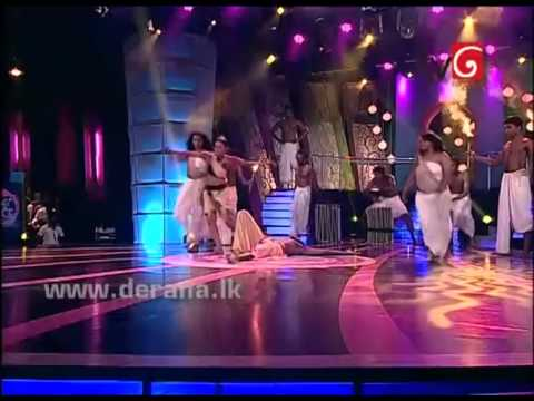 Sajitha Anthony & Shashika Jones - Dance for Dandu Basna Manaya song Angampora