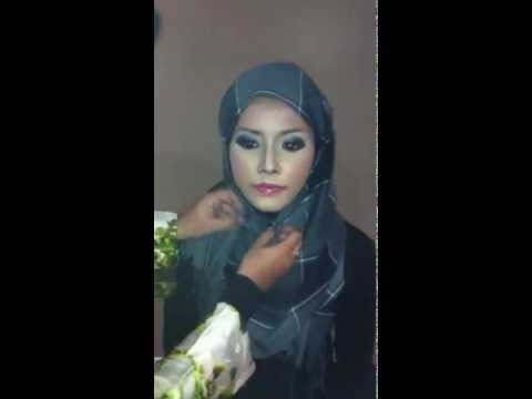 Tudung Selendang Instant Easy wear Hijab tutorial by Zaharah.com