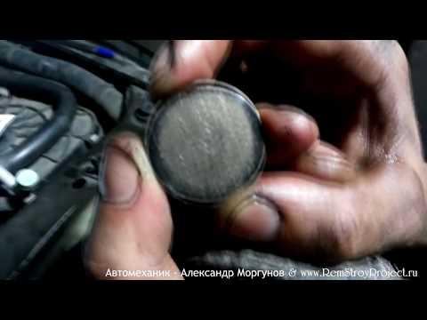 Регулировка клапанов Nissan Patrol GR Y61 RD28T из серии выходные в гараже! www RemStroyProject ru