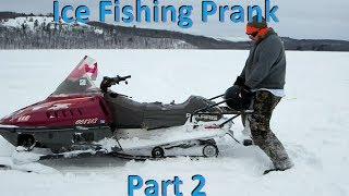 getlinkyoutube.com-Ice Fishing Prank (Part 2)