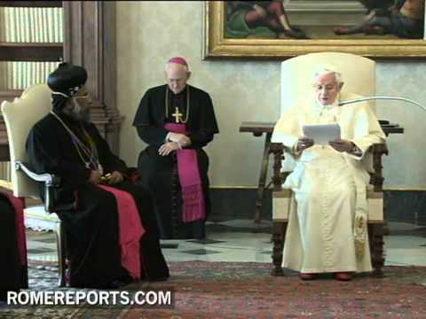 Pope welcomes bishops of the Syro Malankara Church in Rome