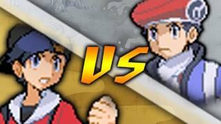 getlinkyoutube.com-Pokemon Heart Gold and Soul Silver: Hack Ethan vs Lucas