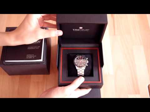 TAG Heuer Carrera Unboxing