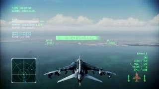 getlinkyoutube.com-Pipeline Destruction | AV-8B Harrier | A Rank | Ace Combat Infinity Co-Op