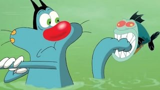 getlinkyoutube.com-Oggy and the Cockroaches Cartoons Best New Collection About 1 Hour HD Part 103