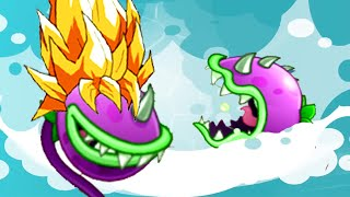 getlinkyoutube.com-Plants vs. Zombies 2 - Boosted Chomper! Big Wave Beach