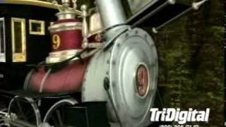 getlinkyoutube.com-3D animated train