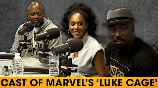 Cast of 'Luke Cage' On The Rise Of Black Superheroes, Hip-Hop's Role & Character Developments width=