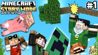 getlinkyoutube.com-Lets Play Minecraft Story Mode #1: ✉ DEAR MOJANG! ✉ (Episode One: The Order of the Stone)