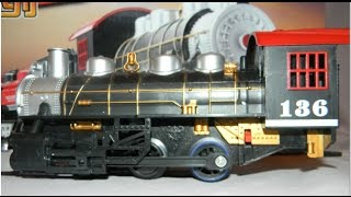 getlinkyoutube.com-Toy trains video for children  fun toys  model railway with passenger train