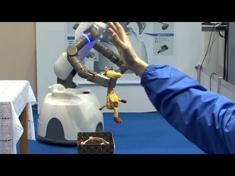 Yaskawa Electric's next-generation robot operated using Kinect #DigInfo