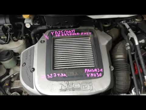 Контрактный двигатель NISSAN PRESAGE VNU30 YD25DDTI 017236A АТ 4WD КОСА + ЭБУ КОМП ИНТЕРКУЛЕР TURBO