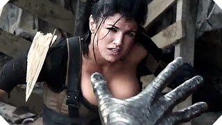 """getlinkyoutube.com-DEADPOOL - """"Boob Alert!"""" - Colossus VS Gina Carano CLIP"""