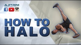 getlinkyoutube.com-How to Halo / Aji Trini / Bboy Sado