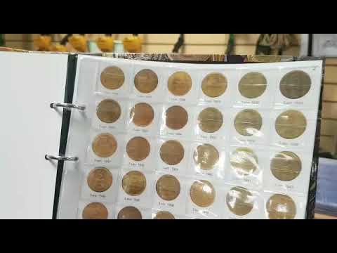 Альбом Монеты СССР регулярного выпуска 1921-1957