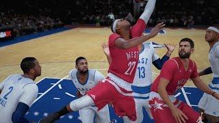 getlinkyoutube.com-NBA 2K16 PS4 My Career - The All-Star Game!