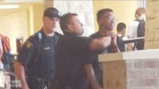 getlinkyoutube.com-Round Rock High School student taken down by officer