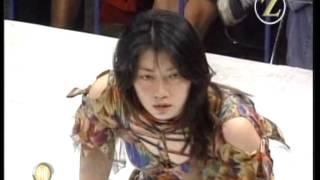 getlinkyoutube.com-Kanako Motoya vs Azumi Hyuga  ( Tomoko Kuzumi )