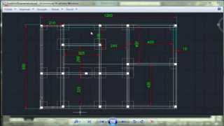 getlinkyoutube.com-Autocad 2d Examen dessin de bâtiment